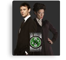 The Master & Missy: The Perfect Couple Canvas Print