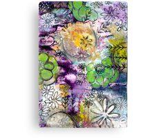 Fancy Florals Canvas Print