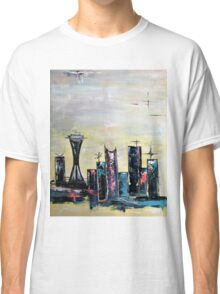 Abstract art with a mid-century modern twist - googie style Classic T-Shirt