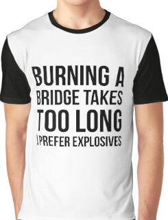 Burning Bridges Graphic T-Shirt
