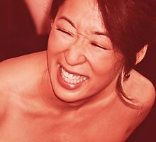 Sandra Oh - Laugh by cristinaandmer