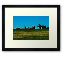 Typical/Culver Framed Print