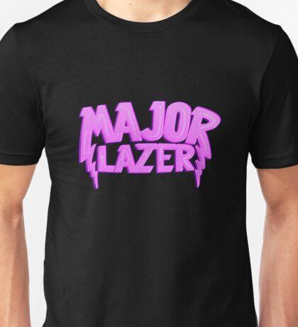 Major Lazer Pink Unisex T-Shirt