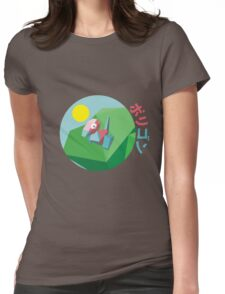 Porygon peak - Pokèmon Womens Fitted T-Shirt