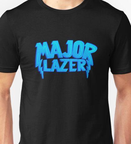 Major Lazer Blue Unisex T-Shirt