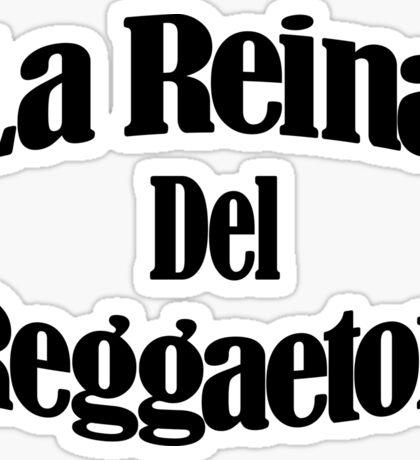 La Reina Del Reggaeton 1 Sticker
