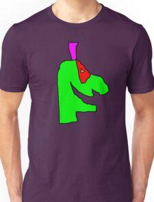 Weird green guy Unisex T-Shirt