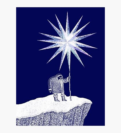 Old Man Winter Hermit and North Star Photographic Print