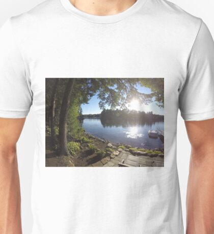 Home is Where the Lake is Unisex T-Shirt