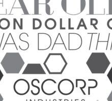 It's Mr. Osborn. Sticker