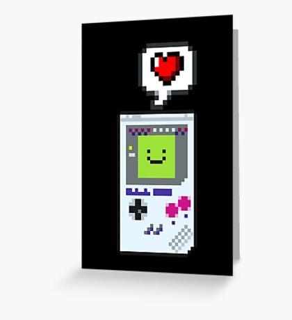 8-bit Love Greeting Card