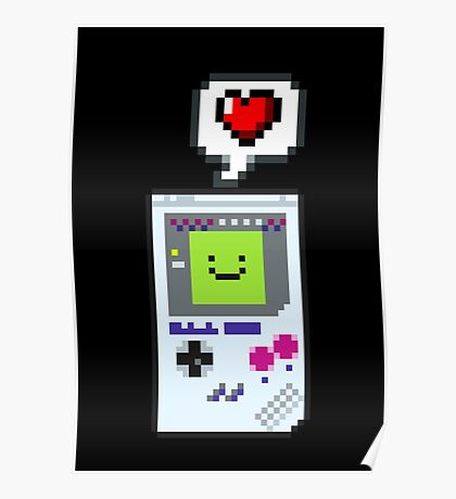 8-bit Love Poster