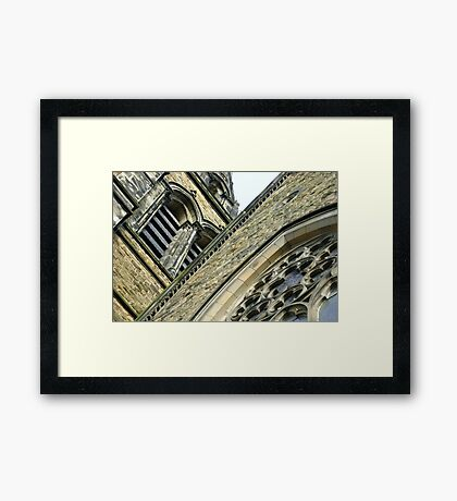 St. Brycedale Church facades Framed Print