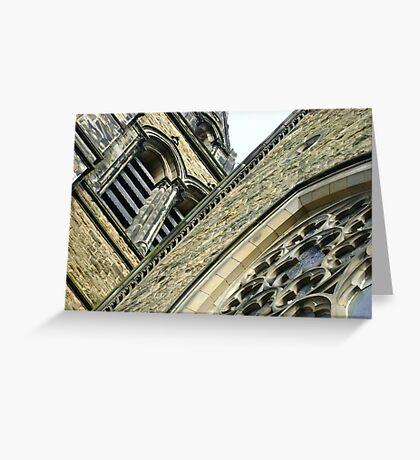 St. Brycedale Church facades Greeting Card