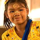 Burmese Girl by Marylou Badeaux