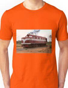 Old Ghan Train, Alice Springs, Australia Unisex T-Shirt