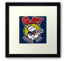 Puffy the Sailor Man Framed Print