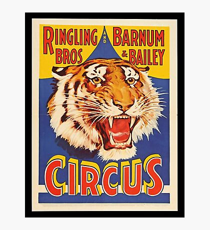 Ringling Brothers Vintage Poster Photographic Print