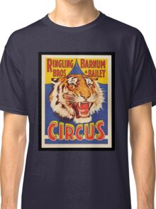Ringling Brothers Vintage Poster Classic T-Shirt