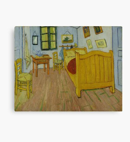 Vincent Van Gogh - The Bedroom 1888 Canvas Print