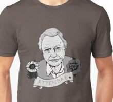 David Attenborough - AttenBae in Grey Unisex T-Shirt