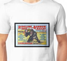 King Kong Style Circus Poster Unisex T-Shirt