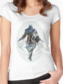 Assassins Creed - Photomanipulation Women's Fitted Scoop T-Shirt
