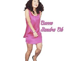 Queen Sandra Oh by cristinaandmer