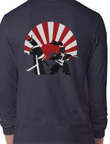 Samurai in the sun Long Sleeve T-Shirt