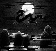 Drawlloween 2014: Dragon by brianluong