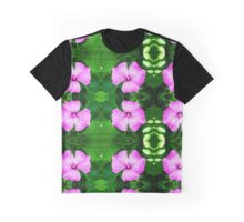 Norwegian Flower - pattern Graphic T-Shirt