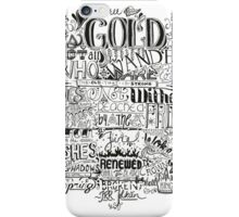 All That is Gold does not Glitter iPhone Case/Skin