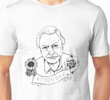 David Attenborough - AttenBae Original Sketch Unisex T-Shirt