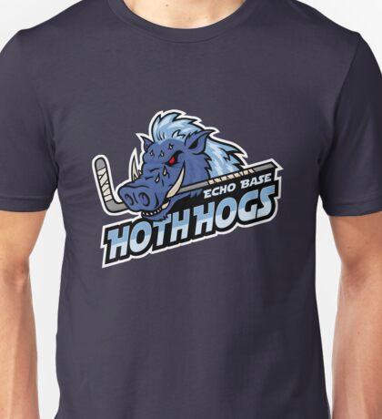 Hoth Hogs Hockey Team Unisex T-Shirt
