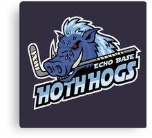 Hoth Hogs Hockey Team Canvas Print