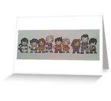 Seven Plus Two.  Greeting Card