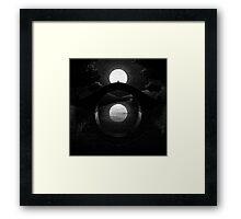Drawlloween 2014: Eye Framed Print