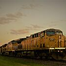 Dusk Train by Graphxpro