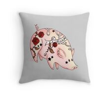 Tattoo Pig Coussin