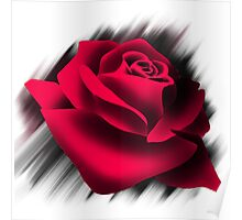 Red Rose Love Poster