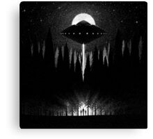 Drawlloween 2014: Alien Canvas Print