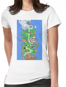 GAME Womens Fitted T-Shirt