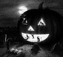 Drawlloween 2013: Pumpkin by brianluong