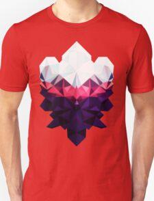 Crystal Golem Heart Unisex T-Shirt