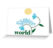 World version 2 Greeting Card