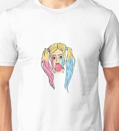 Bubble Gum: Transparent Unisex T-Shirt