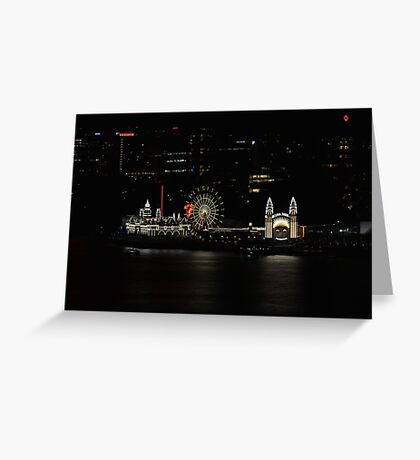Just for Fun - Luna Park - Sydney Australia Greeting Card