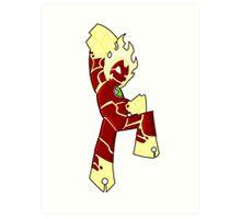 Chibi Heatblast Art Print