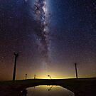 Galaxy from Starfish Hill  by pablosvista2