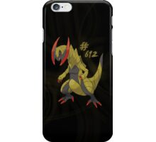 Haxorus #612 iPhone Case/Skin